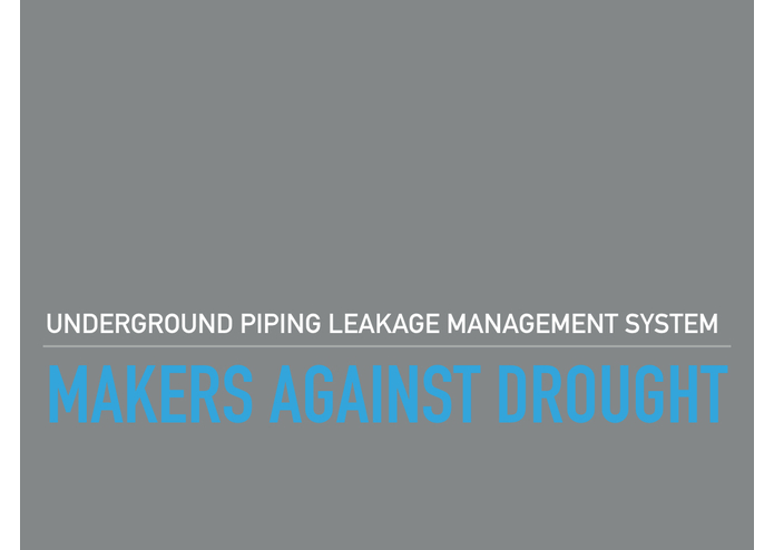 MAD - Underground Piping Leakage Management System – screenshot 1
