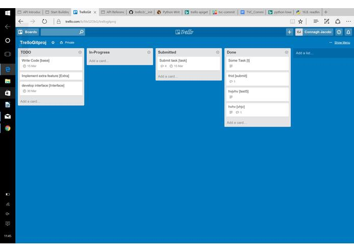 Trello Version Control (with Git integration) – screenshot 2