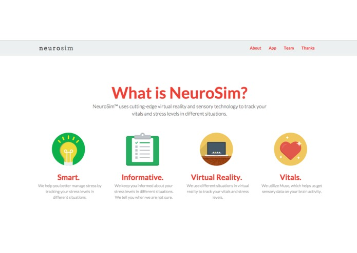 NeuroSim – screenshot 2