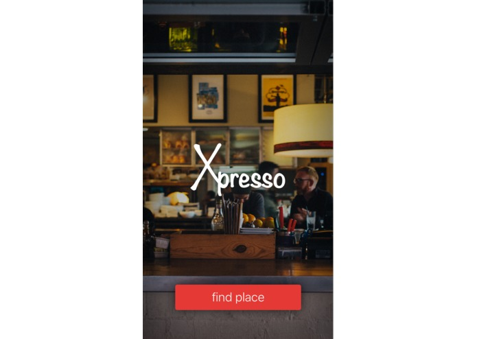 Xpresso, Mobile App – screenshot 1