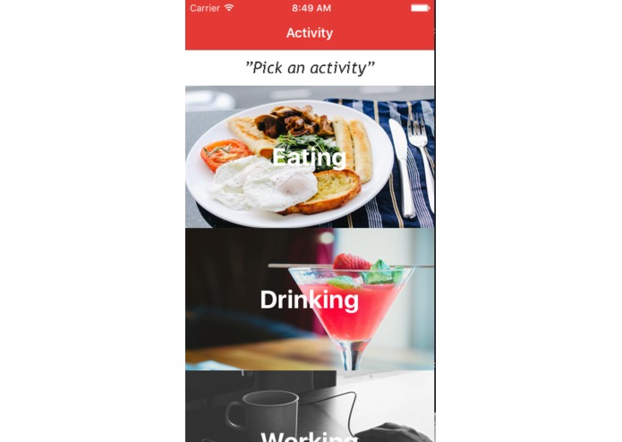 Xpresso, Mobile App – screenshot 2