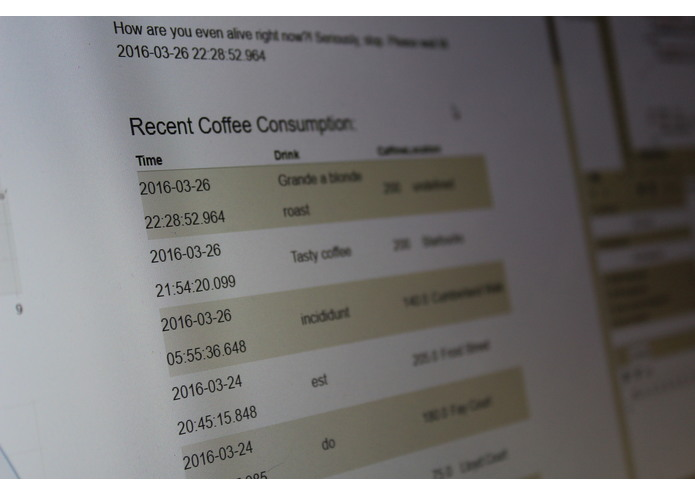 CoffeeCount – screenshot 2