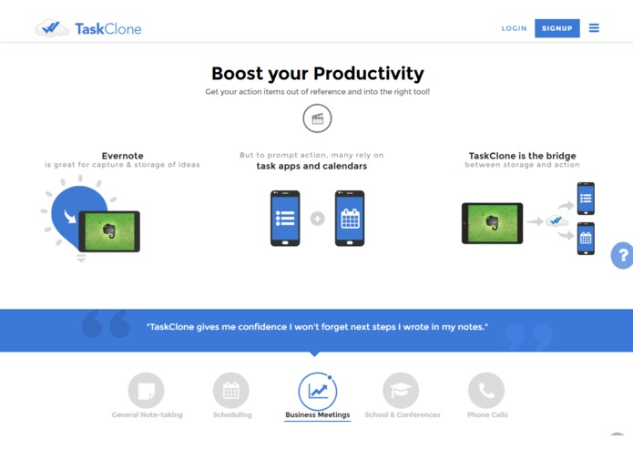 TaskClone – screenshot 2