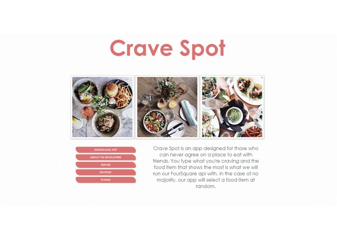 CraveSpot – screenshot 1