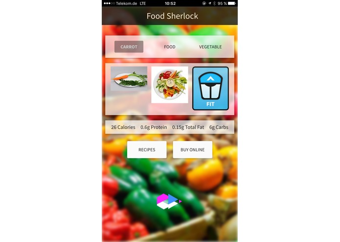 Food Sherlock – screenshot 2