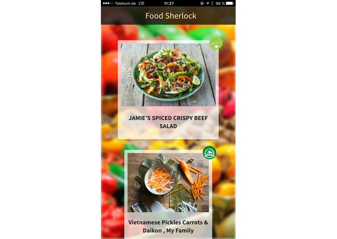 Food Sherlock – screenshot 3