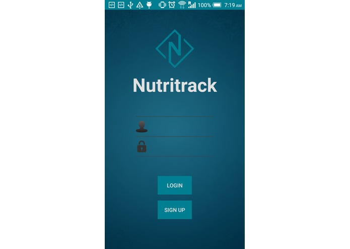 NutriTrack – screenshot 1