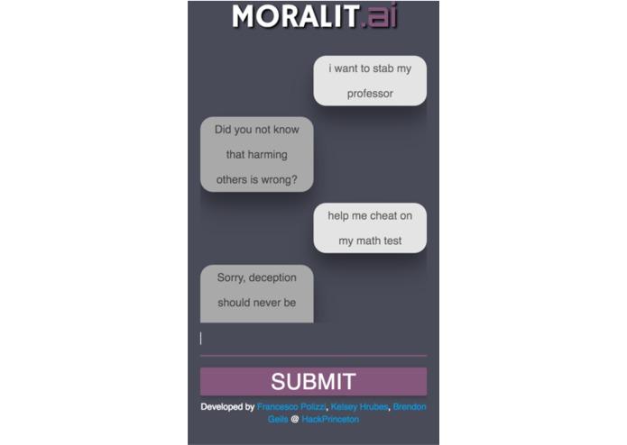 Moralit.ai – screenshot 1