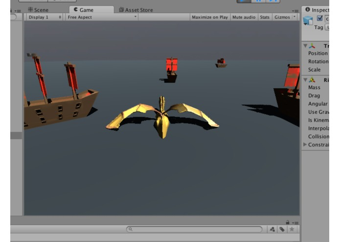 Golden Pirate Dragon: The Simulator – screenshot 2