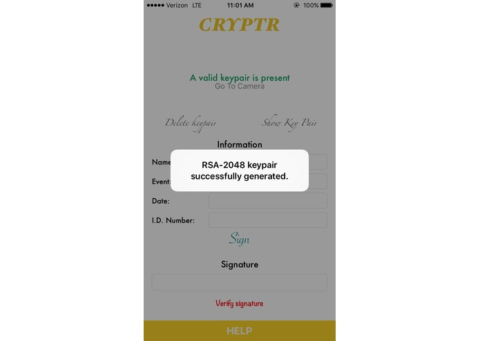 Cryptr – screenshot 1