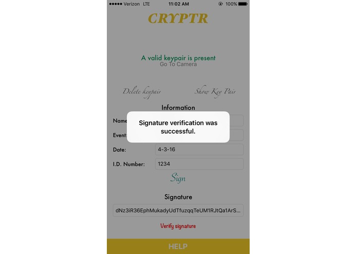 Cryptr – screenshot 5
