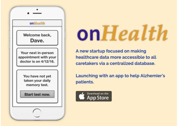 onHealth – screenshot 1