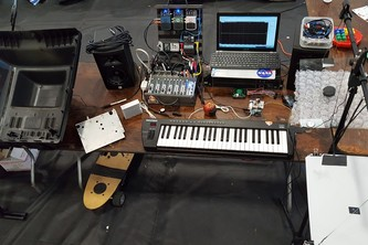 Analog Squared Effect Processing & Arduino Synthesizer