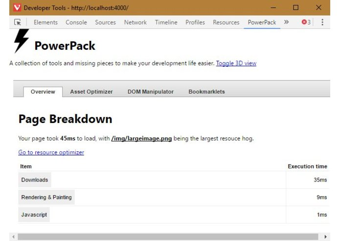 PowerPack – screenshot 1
