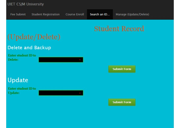 Database-Frontend-backend-Mysql-Project – screenshot 6