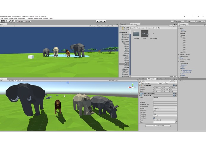 Low Poly Safari – screenshot 2