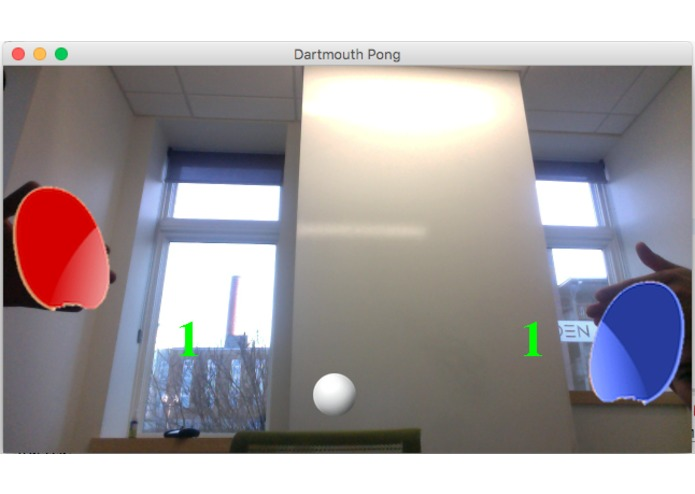 DartmouthPong – screenshot 1