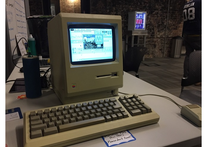 Macintosh Plus on Macintosh Plus – screenshot 1