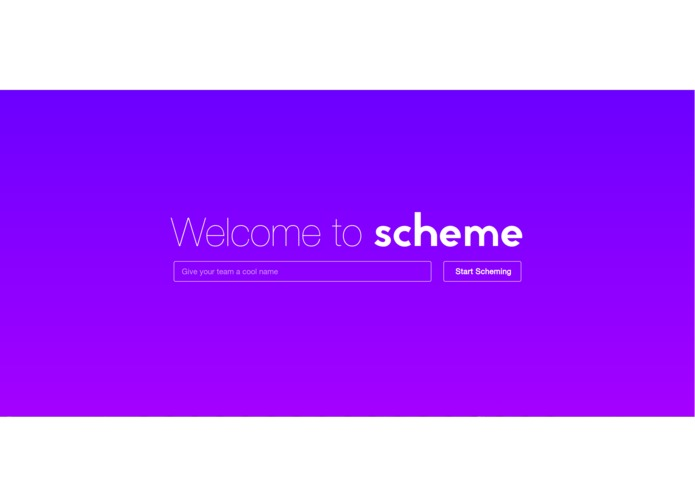 Scheme – screenshot 1