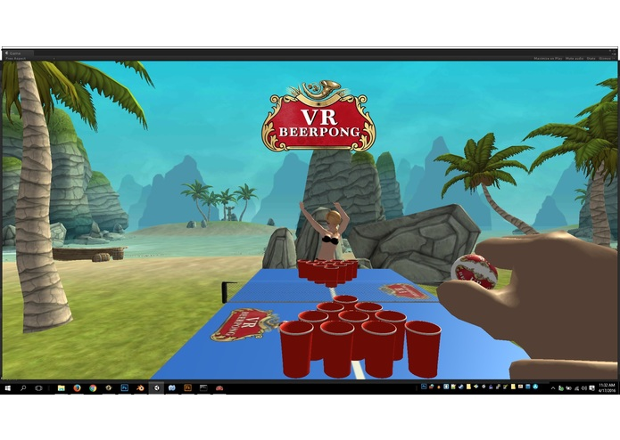VRBeerPong – screenshot 1