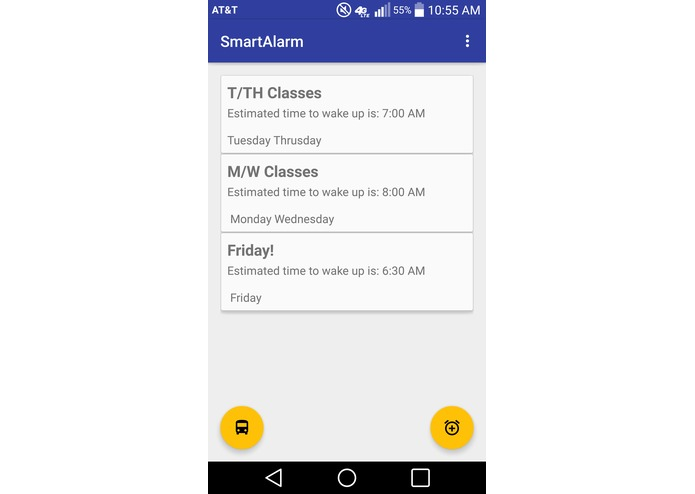 NeverLate SmartAlarm – screenshot 2