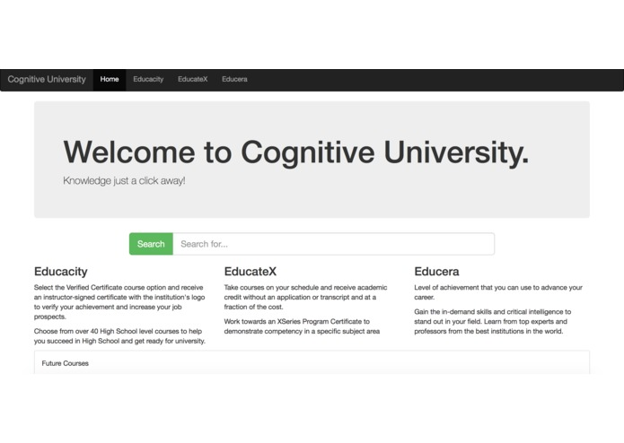Cognitive_websites – screenshot 1