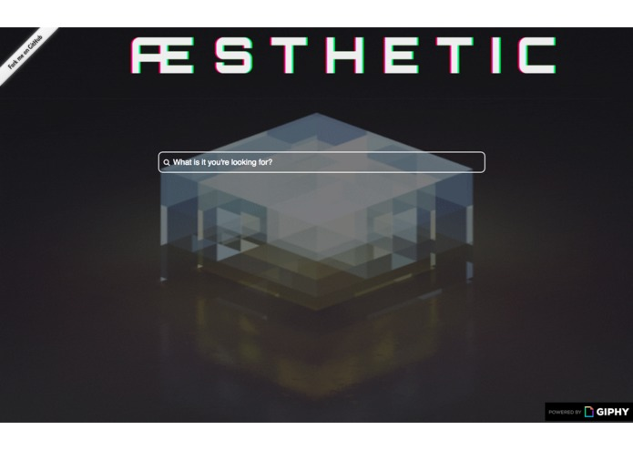 aesthetic-search – screenshot 1