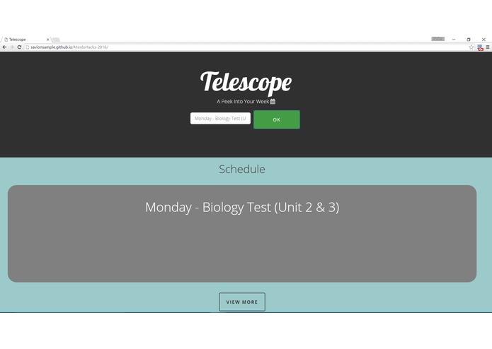 Telescope – screenshot 1