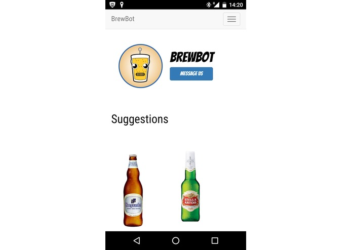 Brewbot - Beer Recommendations Platform with chatbot. – screenshot 4