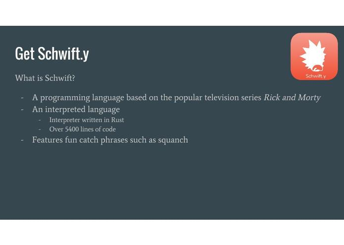 schwift – screenshot 2