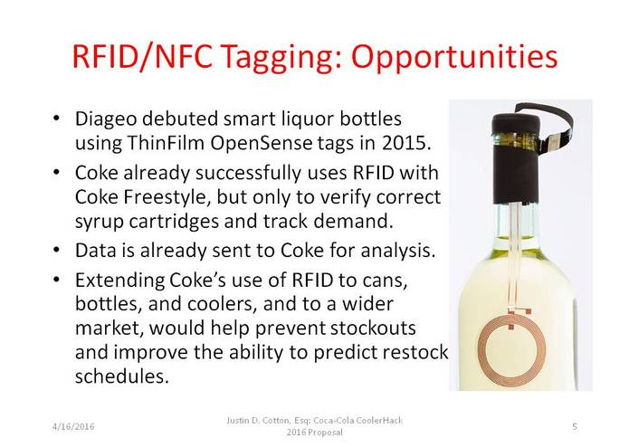 Solving Coke Cooler Stock-Outs with RFID/NFC Tagging – screenshot 2