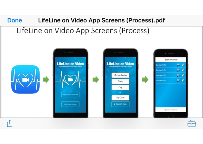 Lifelineonvideo – screenshot 1
