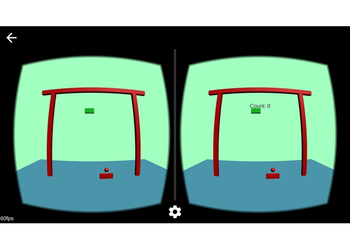Breakout game for Cardboard VR – screenshot 1