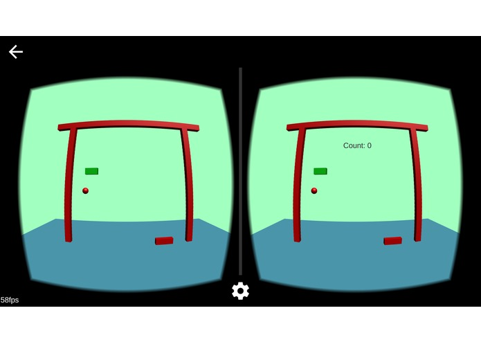 Breakout game for Cardboard VR – screenshot 2