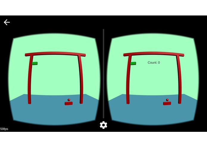 Breakout game for Cardboard VR – screenshot 3