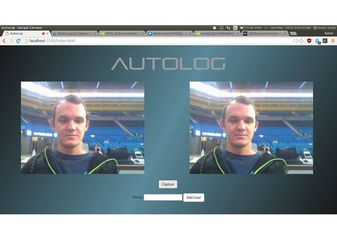 AUTOLOG – screenshot 1