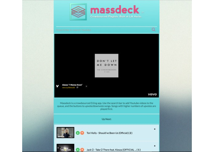 T150 MassDeck – screenshot 1