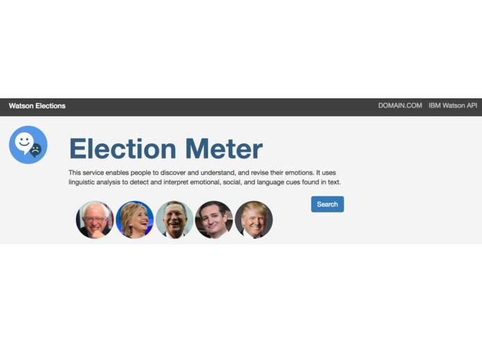 Watson Elections – screenshot 1