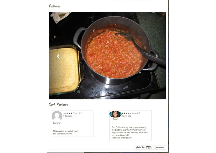 homecookers.club – screenshot 3