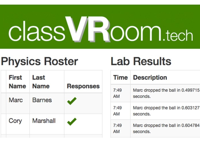 classVRoom – screenshot 4