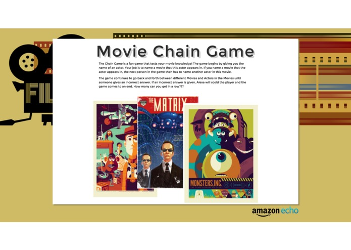 Movie Chain Game – screenshot 1
