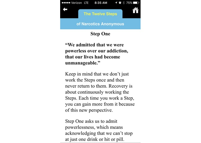 COR-12 App for Opioid Recovery – screenshot 6