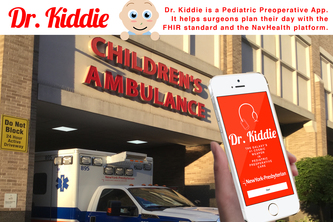 Dr. Kiddie (Pediatric Preoperative App)