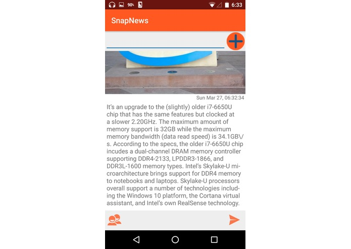 SnapNews – screenshot 2