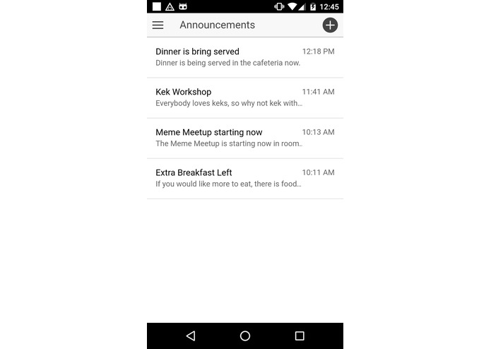 HNotifier – screenshot 1
