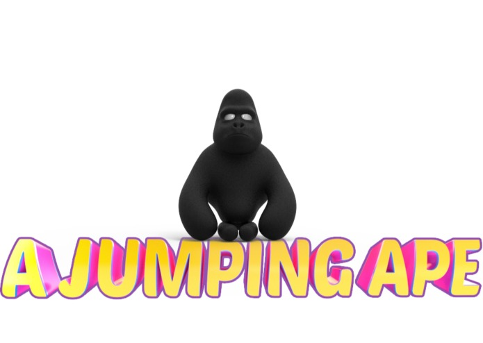 A Jumping Ape! A Thinking Ape, Create a game Challenge – screenshot 1