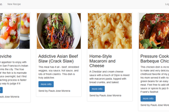 BroadbandTV Back-end challenge: Meal Nutrition API