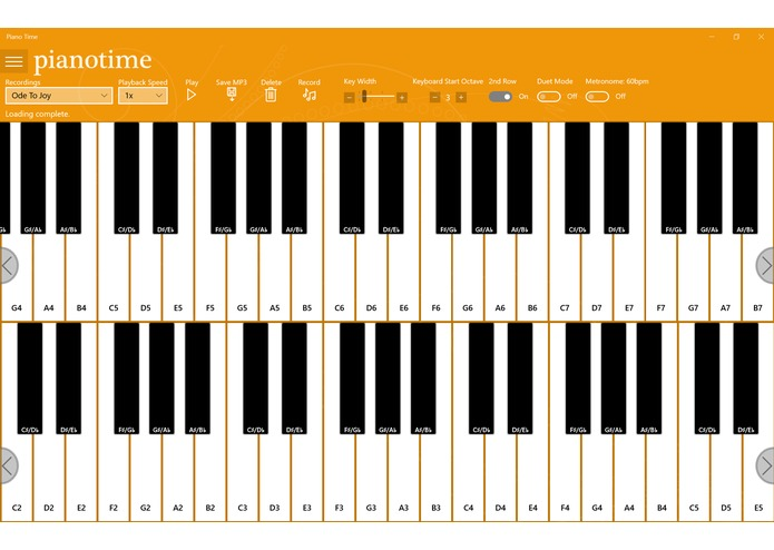 Piano Time – screenshot 1