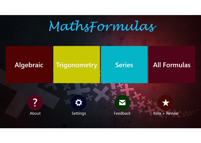 MathsFormulas – screenshot 6