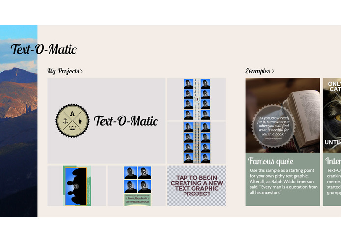 Text-O-Matic – screenshot 2